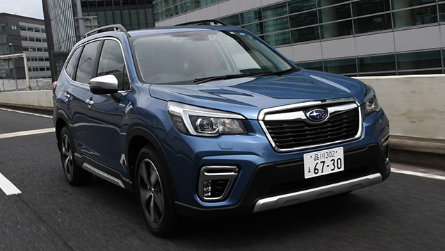 <span class='fc_blue'>スバルフォレスター<br>SUBARU FORESTER</span>