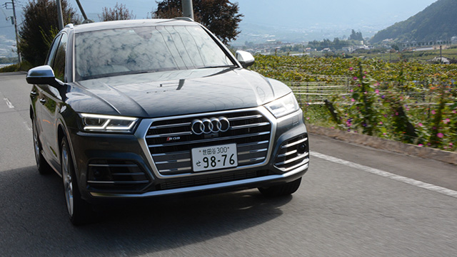 <span class='fc_blue'>アウディQ5/SQ5</span><br>Audi Q5/SQ5